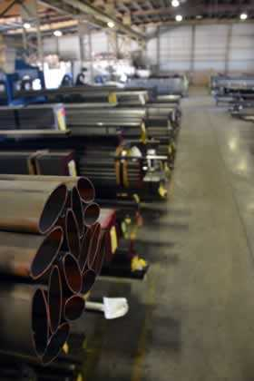 Elliptical custom steel tubing