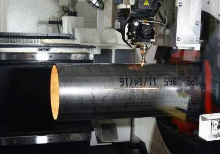 Laser Cutting a Tube